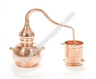 Copper Traditional Alembic Still