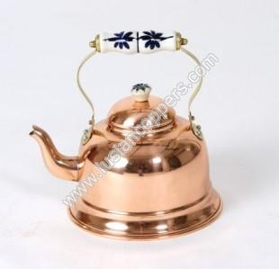 Copper Smooth kettle